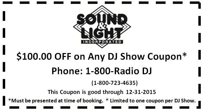DJ coupon